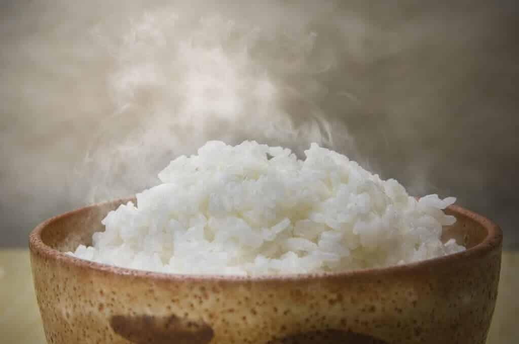 how to keep rice warm