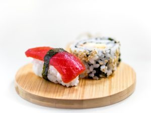 sushi rice with apple cider vinegar 2