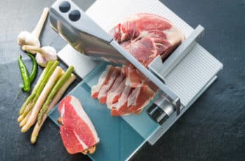 the advantage of a meat slicer